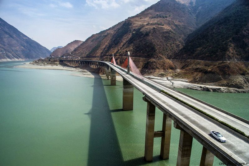 2016 Jaguar XJ Skyroad Paxi Expressway China  2