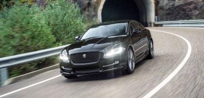 2016 Jaguar XJ Skyroad Paxi Expressway China 23
