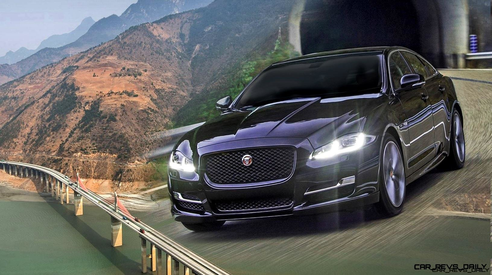All Types 2016 xj : 2016 Jaguar XJ Carves $3B China Skyroad in Plush, Superlux Fashion!