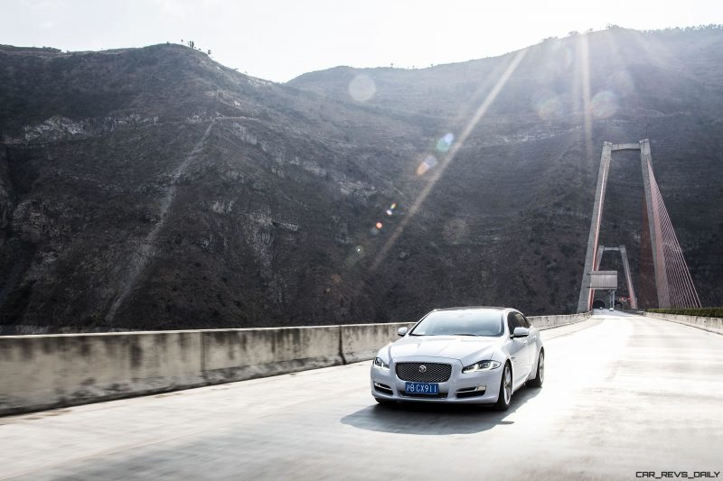 2016 Jaguar XJ Skyroad Paxi Expressway China 30