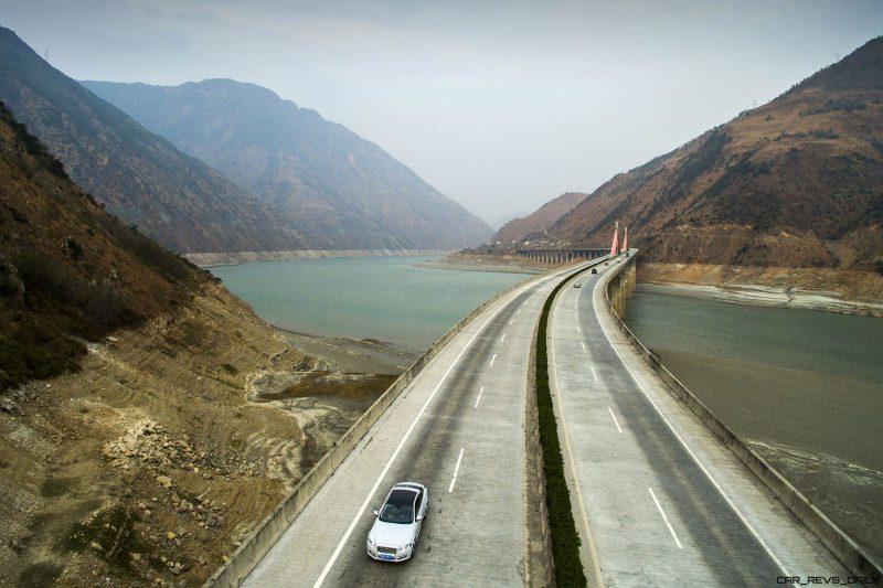 2016 Jaguar XJ Skyroad Paxi Expressway China 34