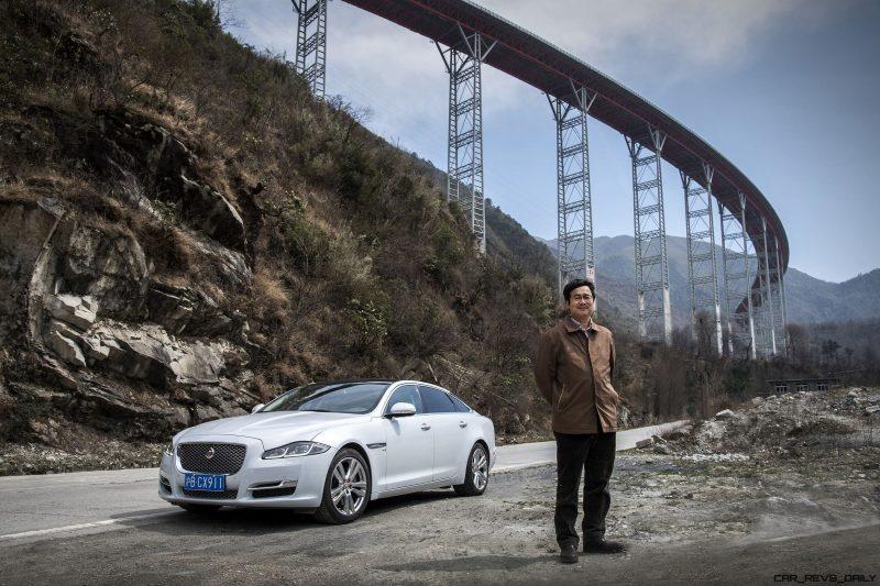 2016 Jaguar XJ Skyroad Paxi Expressway China 6