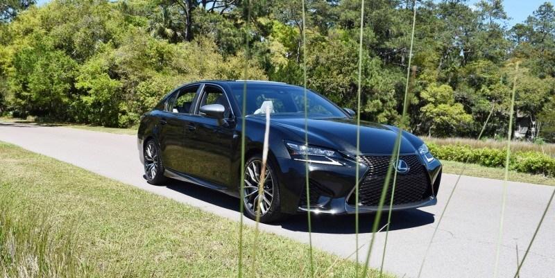 2016 Lexus GS-F Caviar Black 10