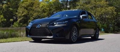 2016 Lexus GS-F Caviar Black 16