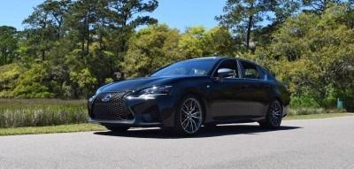 2016 Lexus GS-F Caviar Black 17