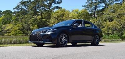 2016 Lexus GS-F Caviar Black 18