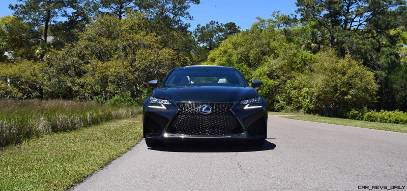 2016 Lexus GS-F Caviar Black 2