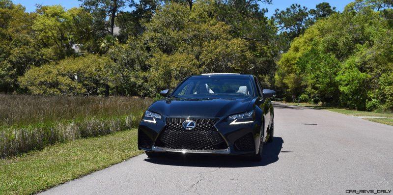 2016 Lexus GS-F Caviar Black 20