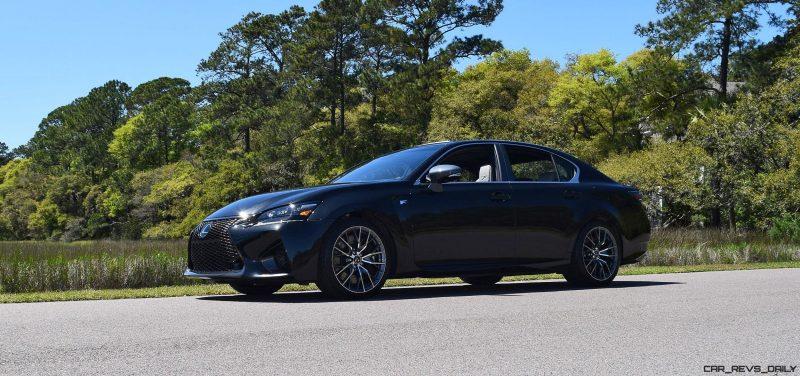 2016 Lexus GS-F Caviar Black 31