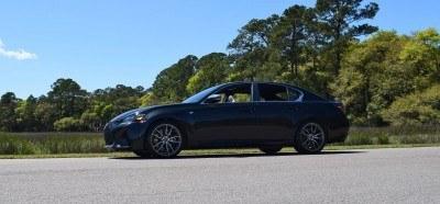 2016 Lexus GS-F Caviar Black 32