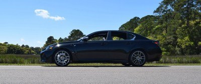 2016 Lexus GS-F Caviar Black 33