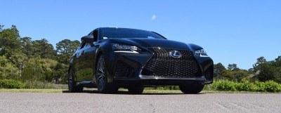 2016 Lexus GS-F Caviar Black 47