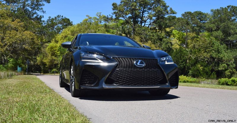 2016 Lexus GS-F Caviar Black 5