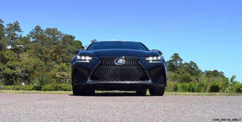 2016 Lexus GS-F Caviar Black 52