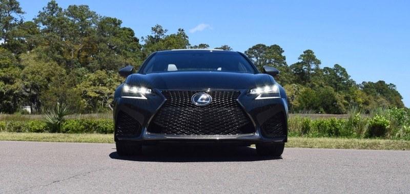 2016 Lexus GS-F Caviar Black 54