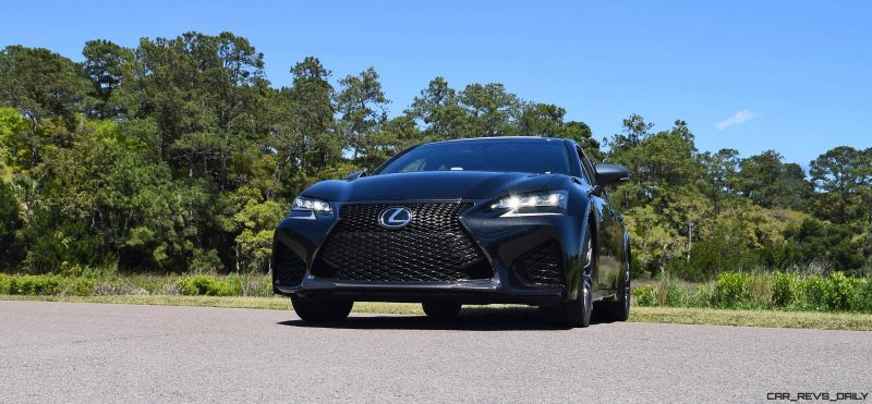 2016 Lexus GS-F Caviar Black 55