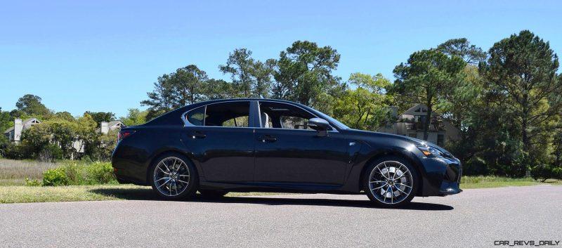 2016 Lexus GS-F Caviar Black 61