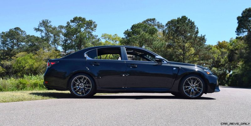 2016 Lexus GS-F Caviar Black 62