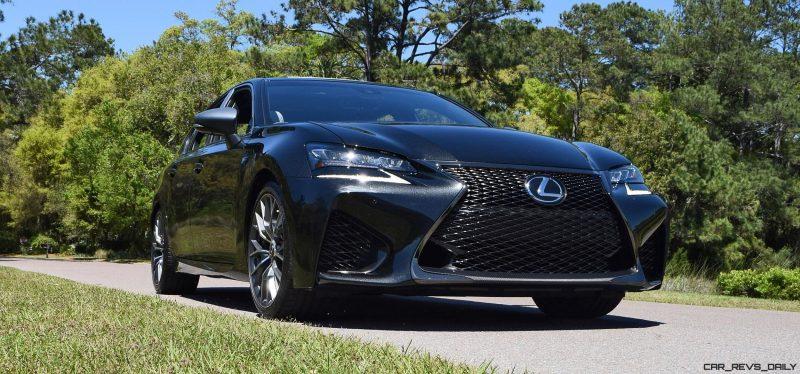 2016 Lexus GS-F Caviar Black 7