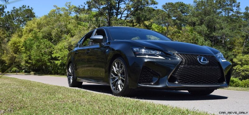 2016 Lexus GS-F Caviar Black 8