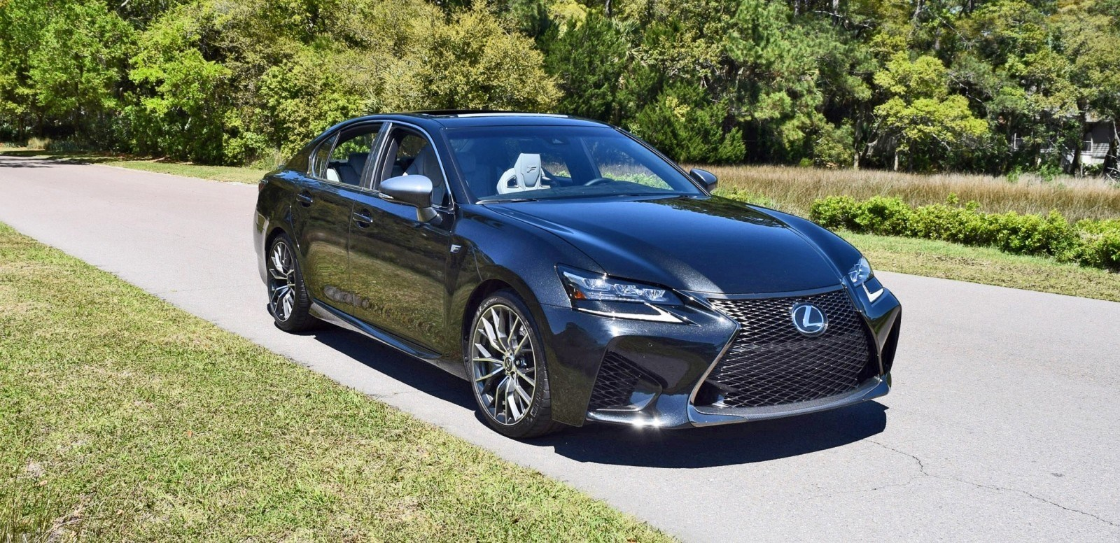 speed fleet intro 2016 lexus gs f first 70 photos in caviar black car revs. Black Bedroom Furniture Sets. Home Design Ideas