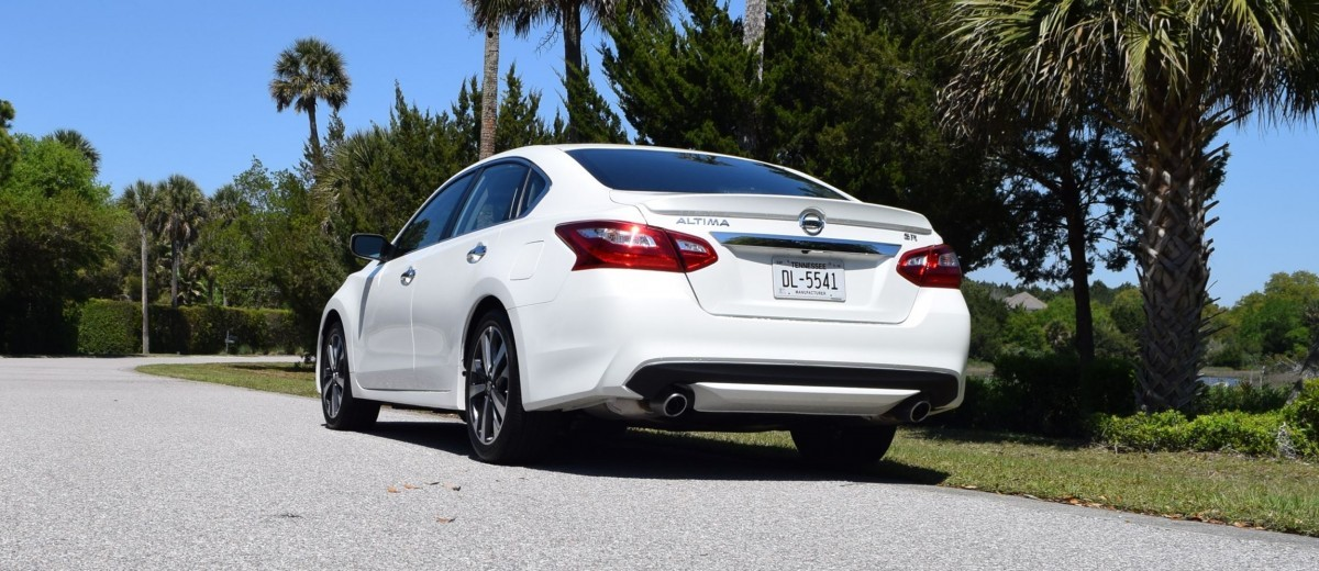 2016 Nissan Altima 2.5 S >> 2016 Nissan Altima 2.5 SR - HD Road Test Review + Drive Video