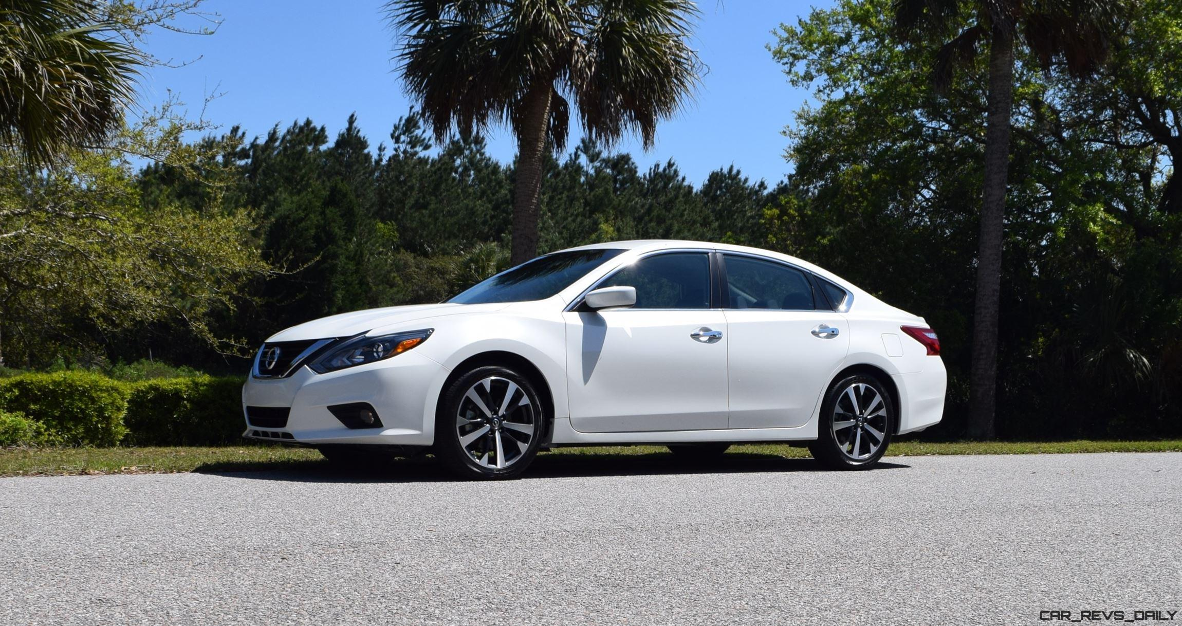 2018 Nissan Altima 25 Sr Hd Road Test Review Drive Video
