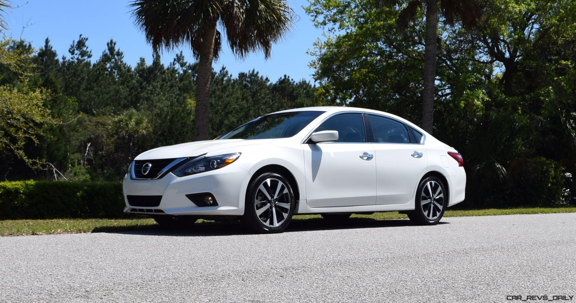 2016 Nissan Altima 2 5 Sr Hd Road Test Review Drive Video