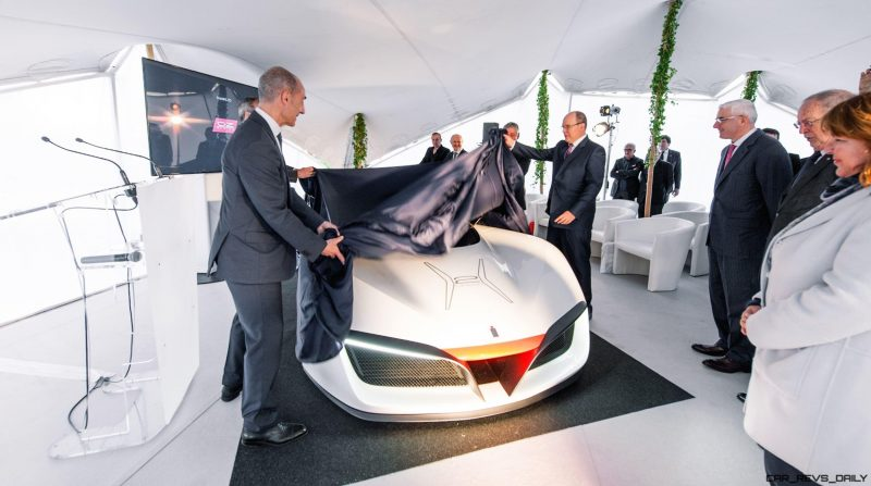 2016 Pininfarina H2 Speed - Monaco Private Debut 1