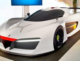 2016 Pininfarina H2 Speed – Monaco Palace Intro to EV Champion Prince Albert