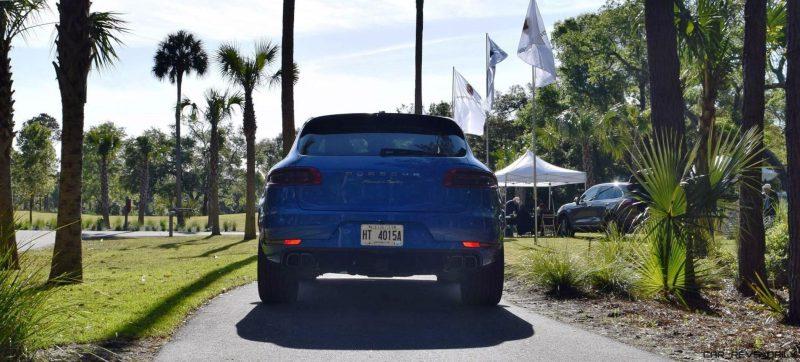 2016 Porsche MACAN TURBO in Sapphire Blue 1