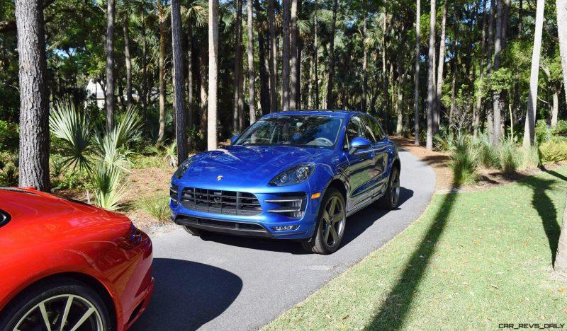 2016 Porsche MACAN TURBO in Sapphire Blue 10