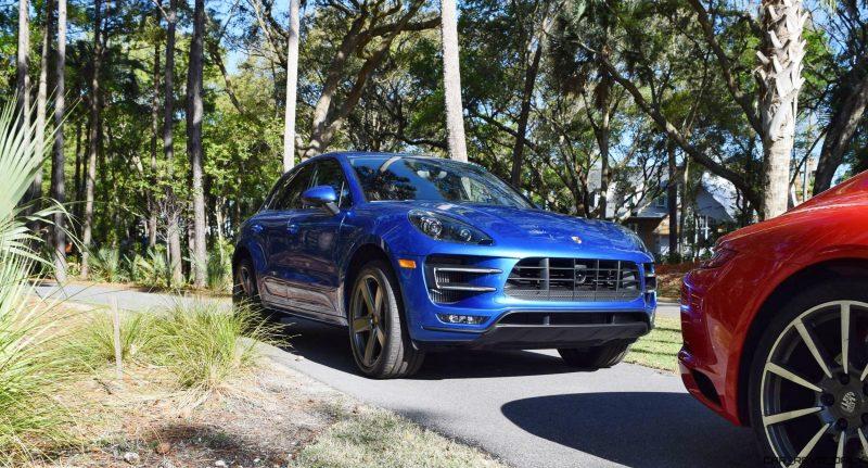 2016 Porsche MACAN TURBO in Sapphire Blue 11