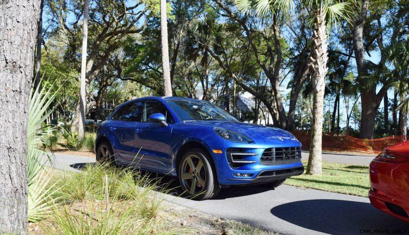 2016 Porsche MACAN TURBO in Sapphire Blue 13