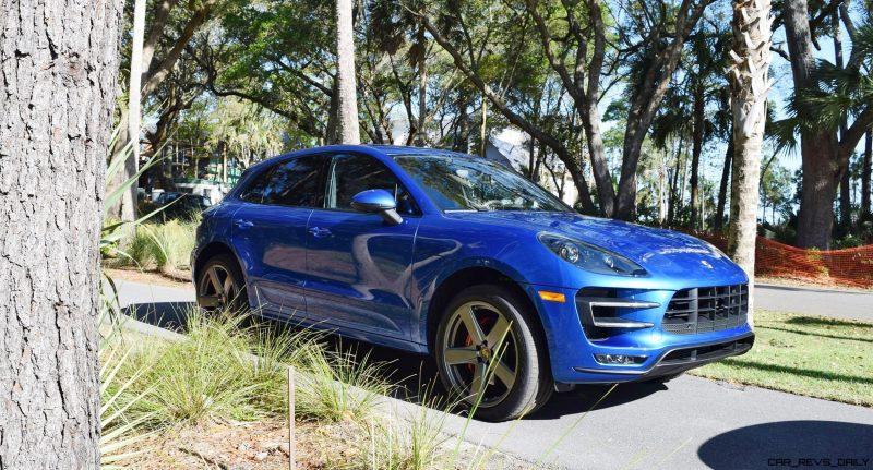 2016 Porsche MACAN TURBO in Sapphire Blue 15