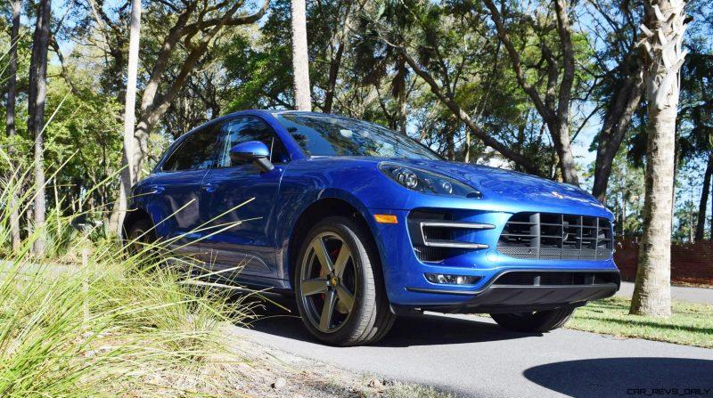 2016 Porsche MACAN TURBO in Sapphire Blue 16