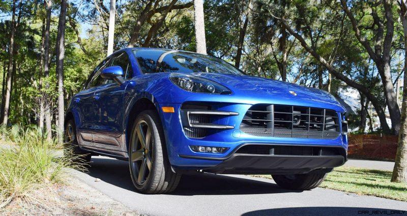 2016 Porsche MACAN TURBO in Sapphire Blue 17