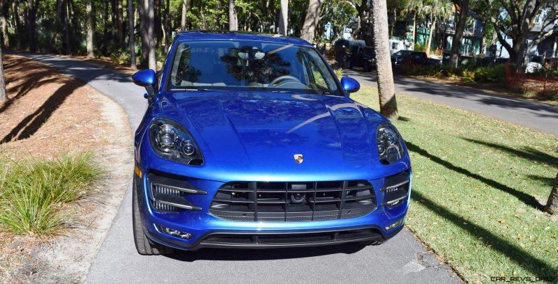 2016 Porsche MACAN TURBO in Sapphire Blue 20