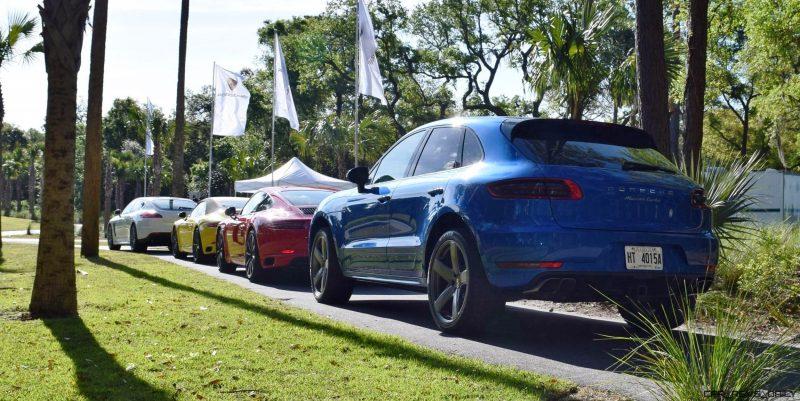 2016 Porsche MACAN TURBO in Sapphire Blue 3