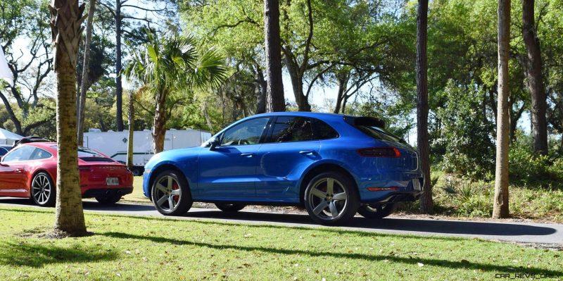 2016 Porsche MACAN TURBO in Sapphire Blue 4