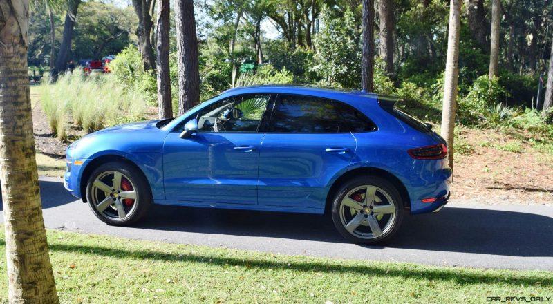 2016 Porsche MACAN TURBO in Sapphire Blue 5