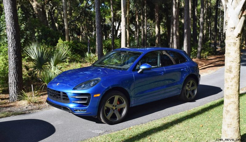 2016 Porsche MACAN TURBO in Sapphire Blue 6
