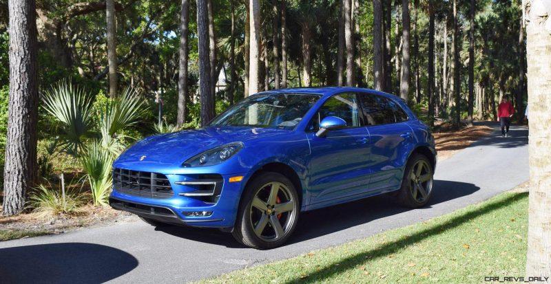 2016 Porsche MACAN TURBO in Sapphire Blue 7