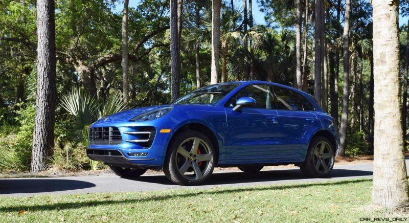 2016 Porsche MACAN TURBO in Sapphire Blue 8
