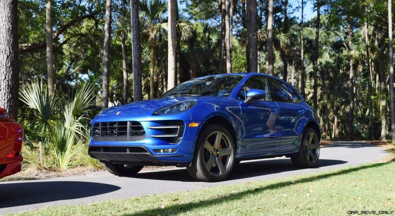 2016 Porsche MACAN TURBO in Sapphire Blue 9