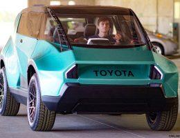 2016 Toyota UBOX Concept – Clemson's Gen Z Vision for EV Offroader