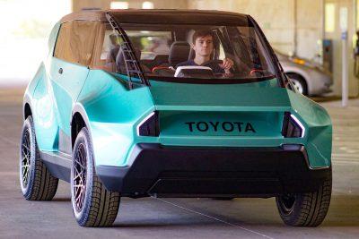 2016 Toyota UBOX Concept - Clemson's Gen Z Vision for EV Offroader
