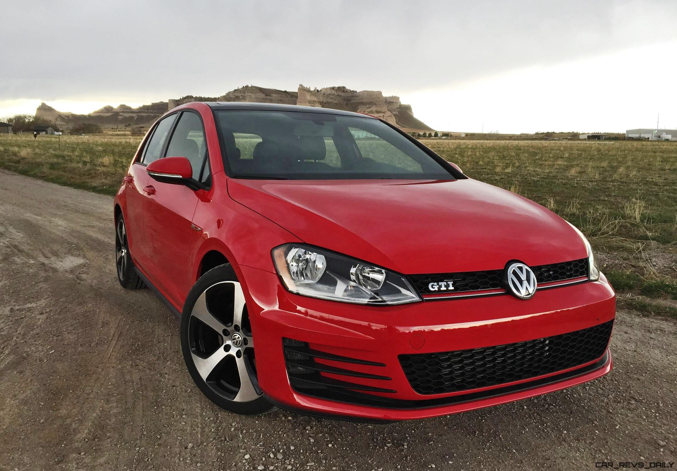road test review 2016 volkswagen golf gti autobahn 6 speed by tim esterdahl. Black Bedroom Furniture Sets. Home Design Ideas
