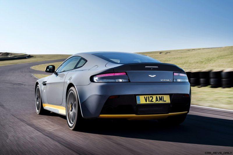 2017 Aston Martin V12 Vantage S 12