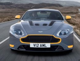 3.7s, 206MPH 2017 Aston Martin V12 Vantage S Updates Tech, Adds 7-Speed Stickshift Option